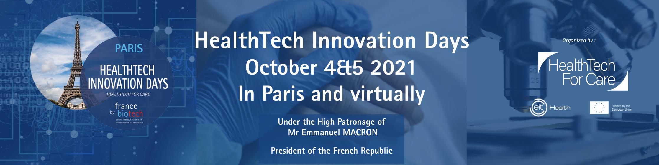 HealthTech Innovation Days 2021